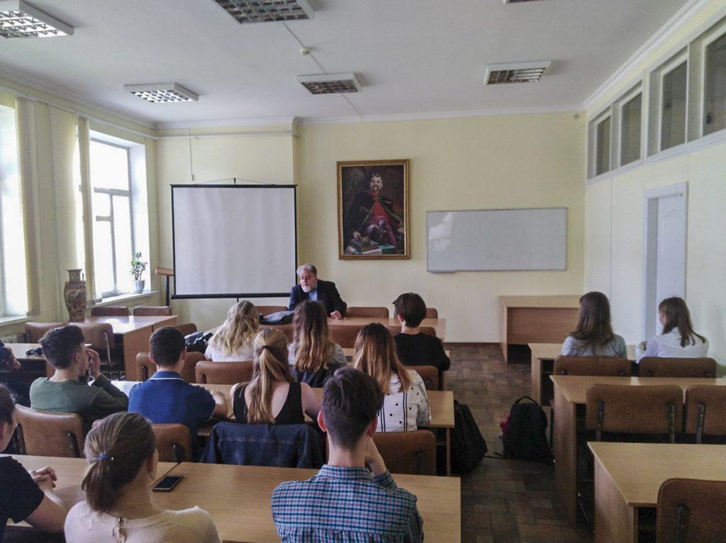 відкрита лекція Павла Кретова