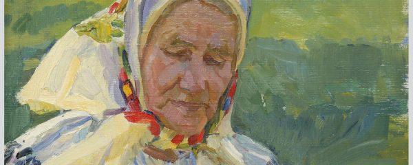 Георгій Меліхов «Думка», картон олія, 1974 р.